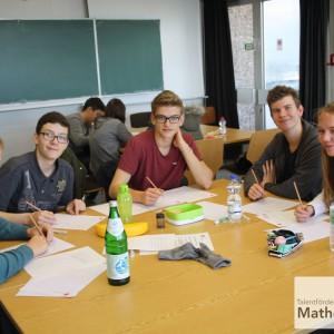 Tag der Mathematik 2015 Team S1