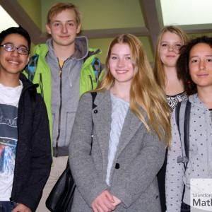 Tag der Mathematik 2015 Team Klasse 9