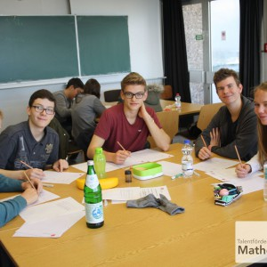 Tag der Mathematik 2015 Team S1