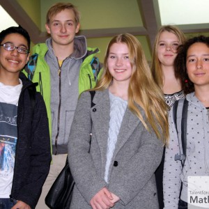 Tag der Mathematik 2015 Team Klasse 9