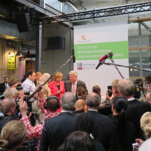 Bundespräsident Joachim Gauck in Hamburg