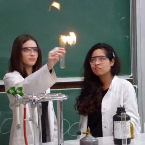 Chemie Vorführung am TdOT 2013