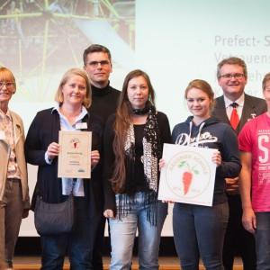 Preisverleihung Gesunde Schule 2014-15