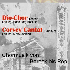 Corvey Cantat und Dio-Chor Plakat