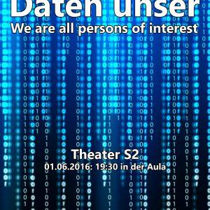 Daten unser - Theaterkurs S2 Juni 2016