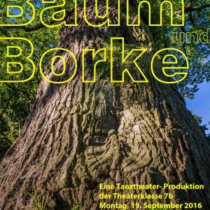 Zwischen Baum und Borke - Tanztheater der Theaterklasse 7b
