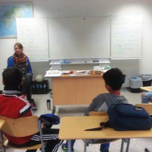 Deutschunterricht in der Schmiedekoppel