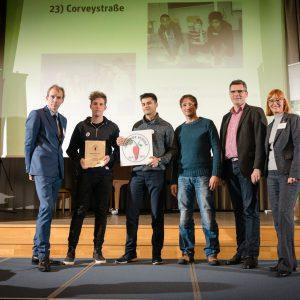 Auszeichnung als Gesunde Schule 2016 Foto: Heike Günther